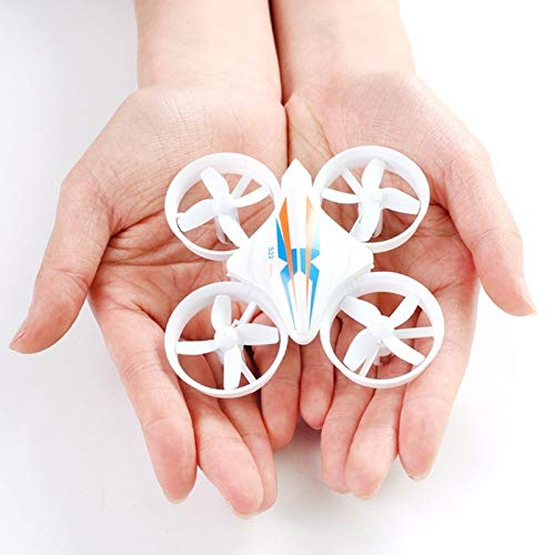 Mini Drone Dron Quadcopter Remote Control Quadrocopter RC Helicopter 2.4G 6 Assige Gyro Drones Met Headless Mode VS H36 E010 Dron,White