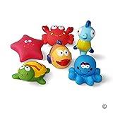 JUNSHEN Juguetes de baño(6PCS), Juguetes para bebés, Juguetes para el Agua,...