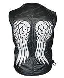 The Walking Dead Daryl Dixon - Chaleco de alas de ángel para motocicleta