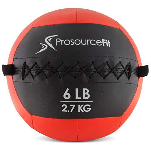 ProsourceFit Soft Medicine Ball - Red/6 lb