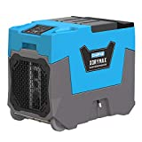 CADPXS XdryMax 180 PPD Smart WiFi Commercial Dehumidifier, Portable, Smaller Size with Pump, Industrial Crawl Space Dehumidifier for Basements, Warehouse, Flood, Water Damage Restoration