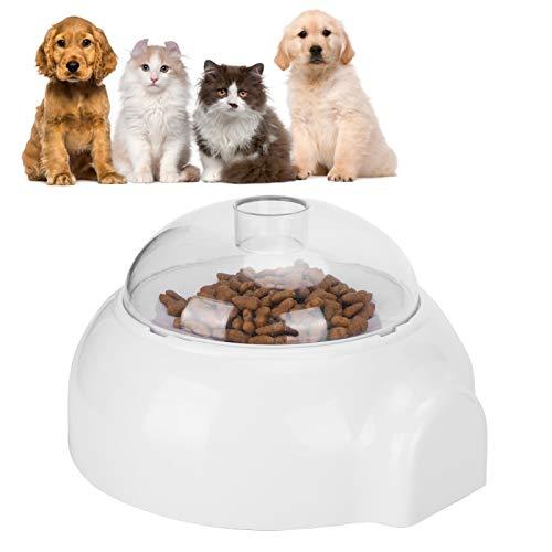 Juguete de alimentación con rodillos para perros, alimentador lento giratorio inteligente para mascotas, dispensador automático de alimentos para perros, juguete de alimentación con rodillos, alimenta