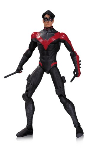 """Continues figure line based on DC Comics - The New 52 Recreates Nightwing from the design in his monthly title Intricately detailed Figure stands 6.7"""" H Limited edition"""