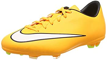 Nike Junior Mercurial Victory V FG Soccer Shoes  3.5Y Laser Orange/White-Black-Volt-Orange LS/Blanc-Noir-Volt
