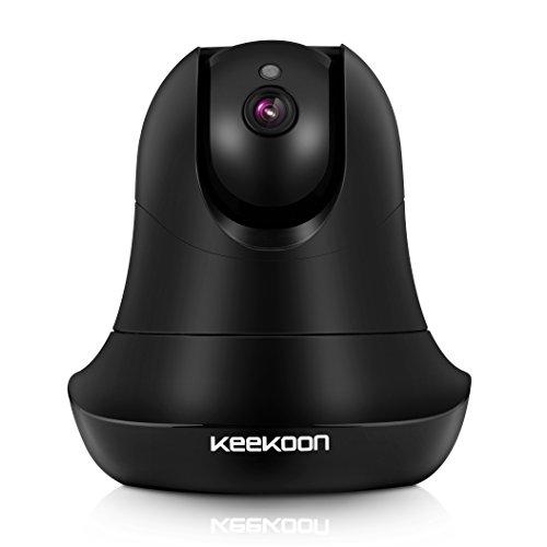 KK004 2.0 Megapixel HD IP Kamera , Plug und Play WiFi Smart Home Überwachungskamera Sicherheit 1080 Pixel mit Nachtsicht bis zu 8m Heim Kamera unterstützt Fernalarm und PC oder Smartphone Android/iOS