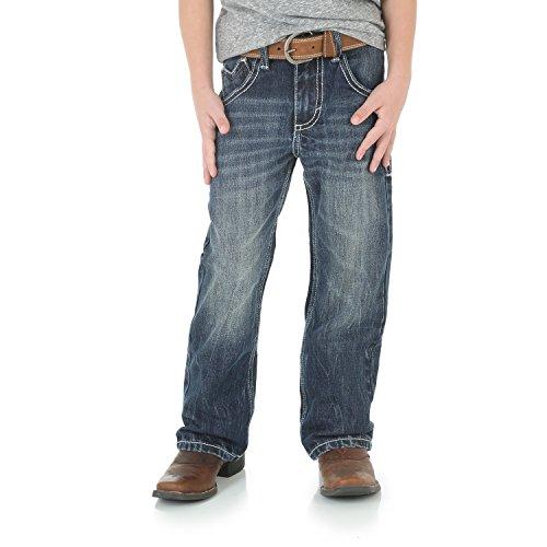 Wrangler Boys' 20X Vintage Boot Cut Jean Canyon Lake 16 Slim