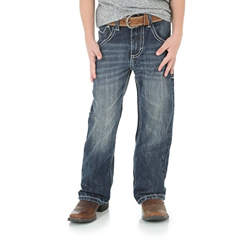 Wrangler Boys' 20X Vintage Boot Cut Jean Canyon Lake 16 Reg