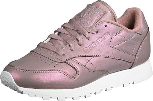 Reebok Classic Leather Pearlized Damen Sneaker Pink, Pink, 37.5 EU