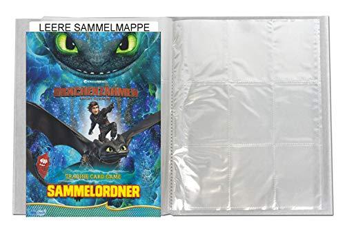 Dragons Trading Cards Serie 3 (2019) - Die geheime Welt - 1 Leere Sammelmappe