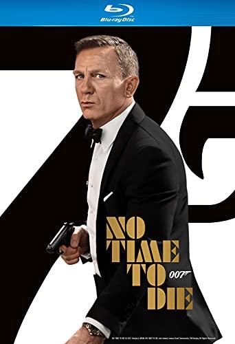No Time To Die (James Bond) [Blu-ray] [2021] [Region Free]