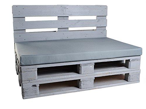 ridge-shop.de - Auflagen & Polster für Loveseats in Grau, Größe 120x80