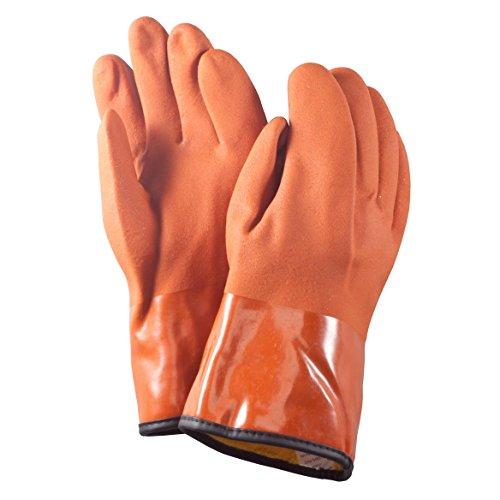 Máquina quitanieves guantes