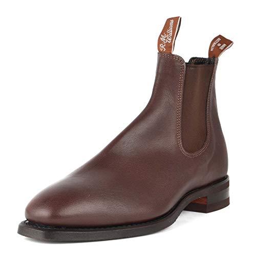 R.M. Williams Botas Chelsea para Hombre Comfort Craftsman Chocolate 44 EU Chocolate