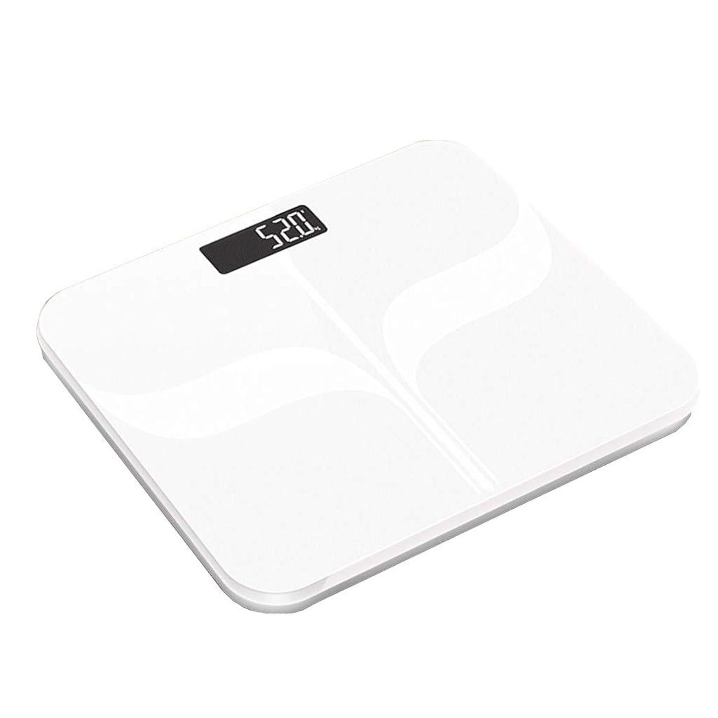 ランタン泥沼降雨高精度体重計デジタル健康を失う体重浴室スケールミニ超薄型隠しスクリーンディスプレイ180キログラム容量ホワイト