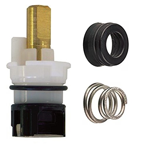 RP25513 Faucet Stem Replacement For Delta faucet Repair Kit + RP4993 Seat and Spring, RP24096 + RP24097 1/4 Turn Stop