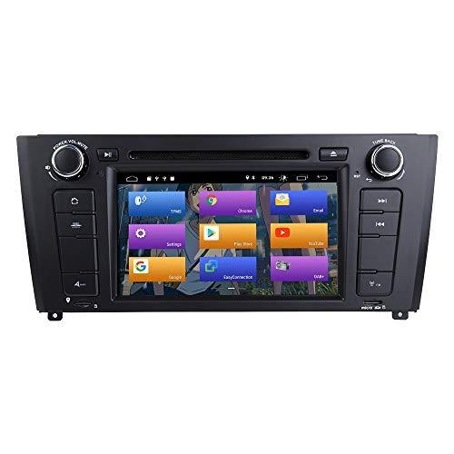 """BOOYES para BMW E81 E82 E87 E88 1 Series Android 10.0 Radio de Coche Estéreo GPS 7""""Reproductor de DVD de Coche Reproducción automática de Coche/TPMS/OBD/Dab/Enlace Espejo"""