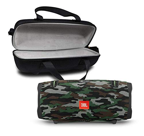 JBL Xtreme 2 Portable Bluetooth Waterproof Speaker Bundle with Hardshell Storage Case - Camouflage (Renewed)