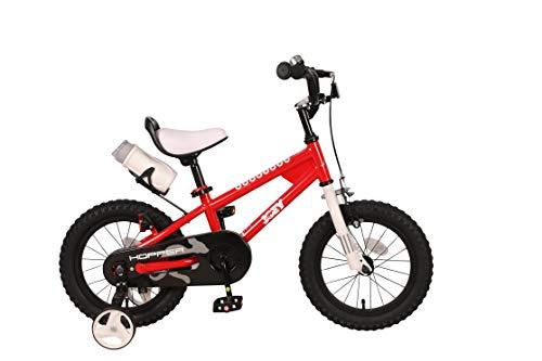 JOEY Hopper 14 inch Kid's Bicycle, Red, Children's Bike