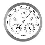 MAVORI® Wetterstation analog für innen und außen mit...