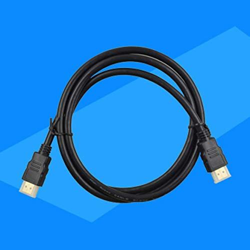 JohnJohnsen Cable HDMI 1.5 m Cable hdmi HD Cable de Video HDMI1.4V HD (Negro)