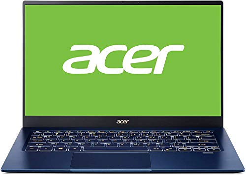 "Acer Swift 5 SF514-54T - Ordenador Portátil Táctil de 14"" Full HD con Procesador Intel Core i5-1035G1, RAM 8 GB, SSD de 512 GB, Intel UHD Graphics, Windows 10 Home, Color Azul, Teclado Qwerty Español"