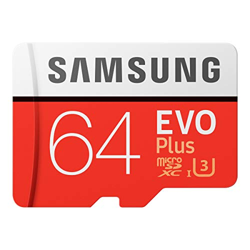 Samsung EVO Plus 64GB microSDXC UHS-I U3 100MB/s Full HD & 4K UHD Nintendo Switch 動作確認済 MB-MC64...