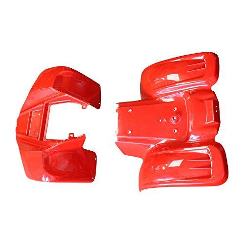 Kazuma Meerkat Front and Rear Fender Set Plastic Redcat 50CC ATV Red