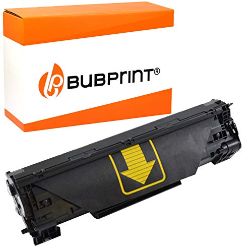Bubprint Toner kompatibel für HP CF283A 83A für Laserjet Pro MFP M125a M125nw M126a M126nw M127fn M127fs M127fw M128fn M128fw M201dw M201n M225dn M225dw M226dn M226dw Schwarz