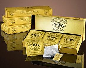 シンガポールの高級紅茶 TWGシリーズ 並行輸入品 (Midnight Hour Tea(ミッドナイトアワーティー 1箱*ティーパック))