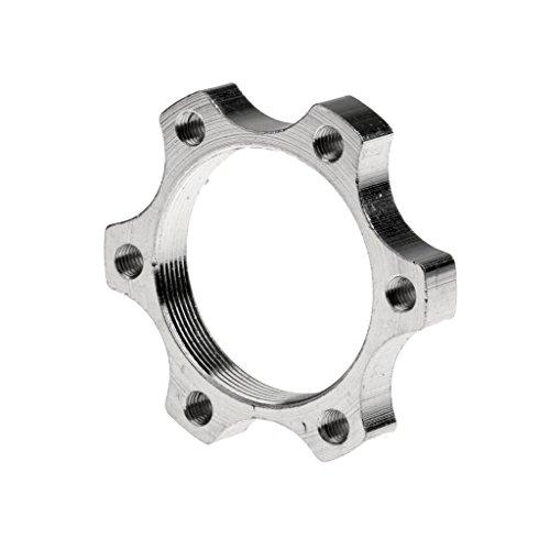 Fahrrad 6-Loch Center Lock Adapter für Bremsscheibe / Scheibenbremse, aus Aluminum