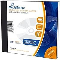 MediaRange MR725 PC Líquido y CD para limpieza de equipos kit de limpieza para computadora - Kit de limpieza para ordenador (Líquido y CD para limpieza de equipos, PC, 10 mm, 125 mm, 143 mm, 207 g) [Alemania]