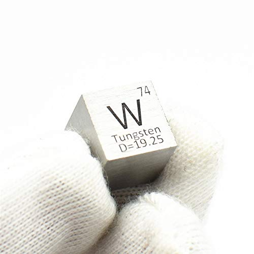 Pure Metal Tungsten 10mm Density W Cube for Element Collections Lab Experiment Material Hobbies...