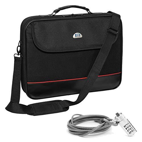 Pedea Laptoptasche Trendline Umhängetasche Messenger Bag 13,3/15,6/17,3/18,4/20,1 Zoll (20,1 Zoll, Tasche mit Notebookschloss)