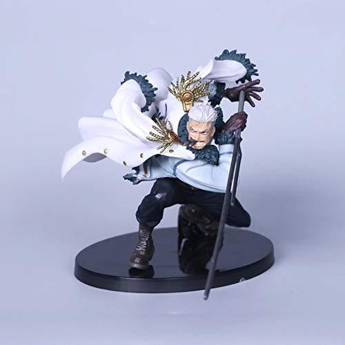 fgbv One Piece Smoker Luffy jinbe Tashigi Donquixote Action Figure ACGN PVC Figure Collectible Toy