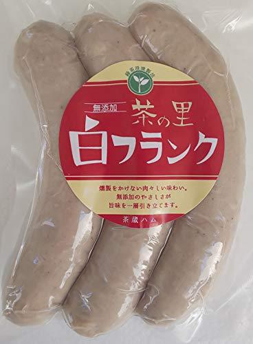 こだわり 無添加 白フランク 茶の里 270g(3本)×20P 冷蔵品 岐阜県産
