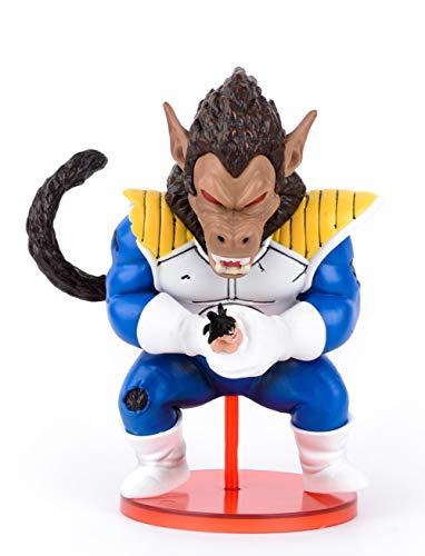 Anime DBZ Actions Figures Vegeta Figure Statues Figurine Model Doll Collection Birthday Gifts PVC 5.5 Inch DBZ Super Saiyan (Great ape Vegeta A)