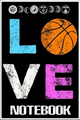 Notebook: Love Basketball Team Fan Gift by Dema Tiq