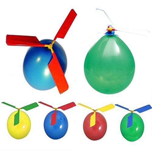 Floridivy Classic Balloon Vliegtuig Helicopter voor de Giften Kids Zak van het Kind Flying Toy Outdoors willekeurige kleur