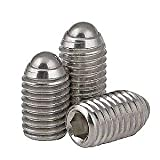 Stainless Steel Ball Plunger/Hex Head M3 10mm Long