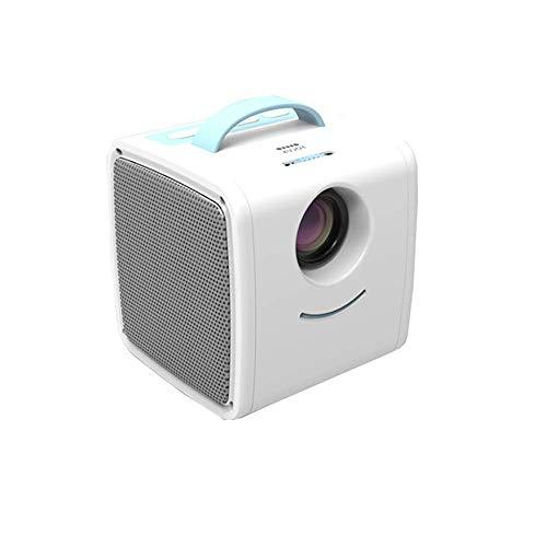 Uke Mini Proiettore, Mini Proiettore HD 1080P E Display 70    con 20000 Ore di Vita del LED Adatto per TV Proiettore Home LED