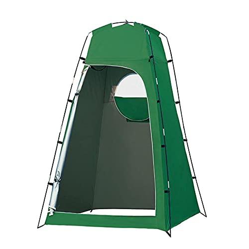 WHkeji Tienda de campaña portátil fácil de instalar para exteriores con bolsa de almacenamiento, ligera y resistente (verde)
