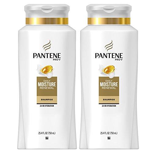 Pantene, Shampoo, Pro-V Daily Moisture Renewal for Dry Hair, 25.4 Fl Oz, Twin Pack Maryland
