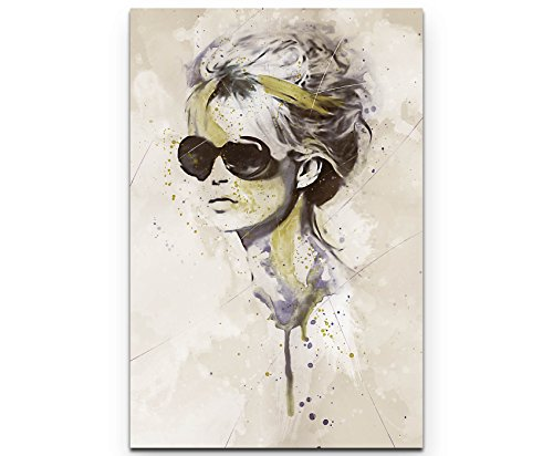 Paul Sinus Art Brigitte Bardot I 90x60cm auf Leinwand gespannt fertig zum aufhängen