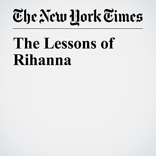 The Lessons of Rihanna copertina