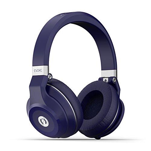 MuveAcoustics Evoke MA-1999FB Over-Ear Wireless Bluetooth Headphones (Flagship Blue)