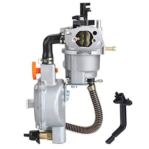 Carburador de combustible dual generador Reemplazo del carburador LPG NG Kit de conversión 2.8KW GX200 170F Carburador de estrangulador manual GX160 2KW 168F