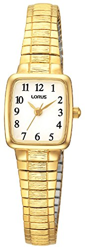 Lorus Klassik Damen-Uhr Edelstahl mit Metallband RPH56AX9