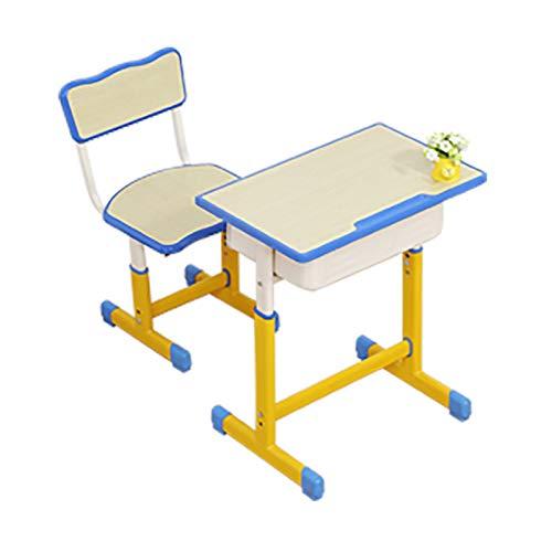 Escritorio y Silla para niños, Escritorio y Silla para la Escuela, escritorios para niños de Primaria, escritorios de Oficina ergonómicos para Estudiantes con Altura Ajustable
