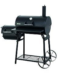 Tepro Charcoal Grill Smoker Biloxi, Zwart*