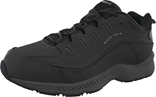 Price comparison product image Easy Spirit Women RoadRun Walking Shoe (7.5 XW US,  Black)